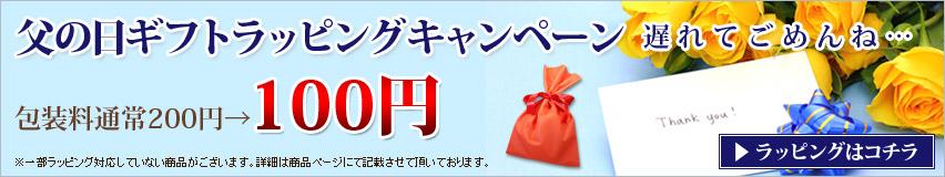 父の日特集・ラッピングキャンペーン
