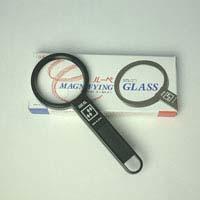 拡大鏡 プラスチックレンズ [手持ちルーペ 虫眼鏡 虫めがね 天眼鏡] アイデアルルーペ 1110-P 3倍&4.5倍 50mm 池田レンズ