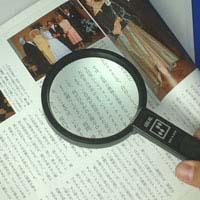 拡大鏡 [手持ちルーペ 虫眼鏡 虫めがね 天眼鏡] アイデアルルーペ 1140 2倍 90mm 池田レンズ ルーペ 拡大鏡