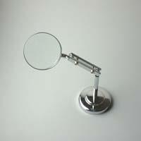 虫眼鏡 スタンド ルーペ 卓上 拡大鏡 スタンド式 小型スタンドルーペ 1600 3.5倍 45mm ルーペ スタンド 池田レンズ ガラスレンズ 日本製
