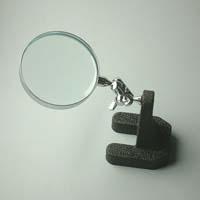 虫眼鏡 スタンド ルーペ 卓上 拡大鏡 スタンド式 小型スタンドルーペ 1620 3倍 65mm ルーペ スタンド 池田レンズ ガラスレンズ 日本製