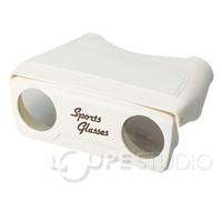 オペラグラス 3倍 双眼鏡 コンサート アウトレット価格でご提供 双眼鏡 [訳あり] 池田レンズ