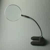 虫眼鏡 スタンド ルーペ 卓上 拡大鏡 スタンド式 中型スタンドルーペ 1650 2.5倍 90mm ルーペ スタンド 池田レンズ ガラスレンズ 日本製