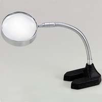 虫眼鏡 スタンド ルーペ 卓上 拡大鏡 スタンド式 非球面 高倍率スタンドルーペ 1655AS 3.5倍 90mm ルーペ スタンド 池田レンズ