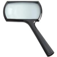 【数量限定★特別価格】 アウトレット 角型ルーペ 虫眼鏡 2倍 50×100mm 2500 池田レンズ