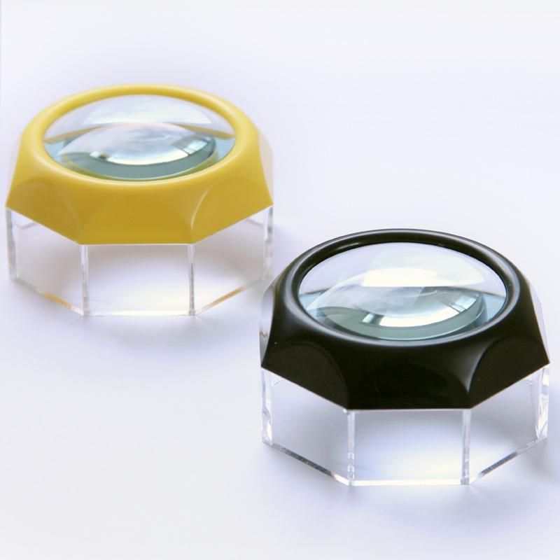 虫眼鏡 デスクルーペ 1810B 4倍 50mm 池田レンズ ルーペ デスクルー拡大 拡大鏡