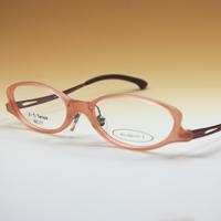 老眼鏡 [シニアグラス] カンダオプティカル スライト2 [シェルピンク] 強度 男性 女性 おしゃれ