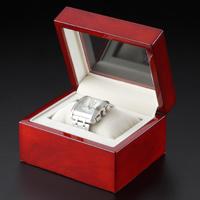 高級時計ケース アルファーミラージュ 時計用 ケース 高級 腕時計 ブラウン木目調 時計ケース