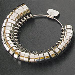 平打リングゲージ リングゲージ おすすめ 指輪 サイズ 測定 計測 測る ゲージ サイズ直し 調整
