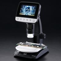 デジタル顕微鏡 LCDデジタルマイクロスコープ DIM-03 アルファーミラージュ TV出力対応 4〜40倍 マイクロスコープ USB 顕微鏡 モニター 画像 動画 撮影