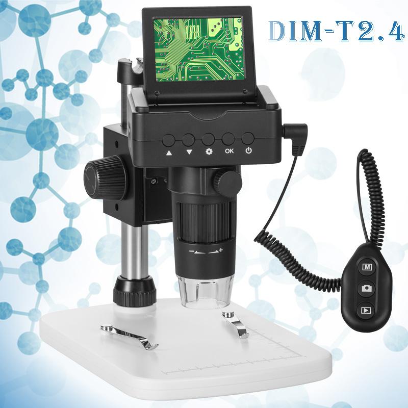 LCDデジタルマイクロスコープ DIM-T2.4 アルファーミラージュ 2.5〜80倍 デジタルマイクロスコープ 顕微鏡 小学生 子供 デジタル カメラ 拡大 観察 学習 顕微鏡で見るミクロの世界