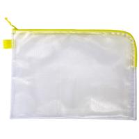 連絡袋 B5/ファスナー付メッシュソフトケースB5 [SP] 3991 連絡袋 小学校 学校 袋 事務用品