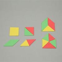 図形学習セット EVA 7624 知育玩具 パズル 子供 キッズ ジュニア 知育玩具 学習教材 図形 理科