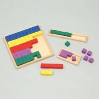 100マス ブロックセット 7626 知育玩具 さんすう