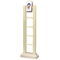 【メーカー在庫限り】 木製はしご下り [楽しい仲間たち] 運動の実験 7691 木のおもちゃ 木製玩具【知育玩具 2歳 3歳 4歳 5歳】
