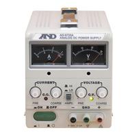 直流安定化電源 AD-8735A エー・アンド・ディ 電源 安定 電子回路設計 製造ライン 実験 学校教材