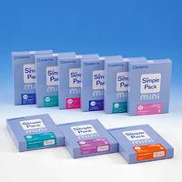 簡易水質検査キット シンプルパック ミニ 水素イオン濃度pH36 SIBATA 水質調査 検査 環境 理科 学校教材 研究