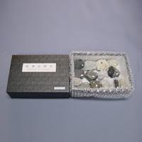 堆積岩標本 2401-112 10種×1組 ニチカ 理科 教材 岩 標本 理科 教材 学校 学習
