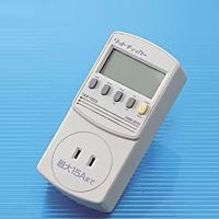 ワットチェッカーTAP-TST5 アズワン 理科 教材 検電器 測定 消費電力 計測 理科 教材 実験
