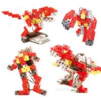 ブロック おもちゃ アーテックブロック ロボティスト T.REX プログラミング 学習 日本製 ロボット Artec ブロック キッズ ジュニア パーツ 知育玩具 レゴ・レゴブロックのように自由に遊べます