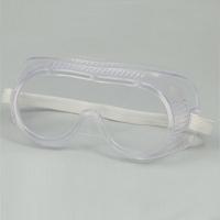 ゴーグル 児童用 安全ゴーグル【実験の安全対策に 理科 教材】 【メガネの上 保護メガネ 一眼型】