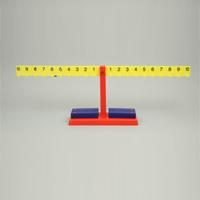 ナンバーバランスてんびん 理科 教材 天びん 天秤 重さ比べ 実験 理科 教材 学校教材 自由研究