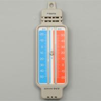 ミニマックス・ワイド [レッド] -20〜50℃ 最高最低温度計 skSATO 計測 測定 温度 実験 理科 教材 学校教材 自由研究 夏休み 宿題