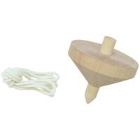 木製ゴマ 小 無着色 φ60 コマ おもちゃ 保育園 幼稚園 幼児 子供 学習教材 知育玩具