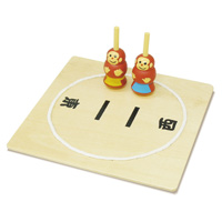 こま 相撲ゴマ 木製 木のおもちゃ 木製玩具 ゲーム コマ 相撲 こまずもう おもちゃ 保育園 幼稚園 幼児 子供 学習教材 知育玩具