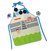 おはなしエプロン 交通安全 学習教材 知育玩具 エプロン 交通安全 保育園 幼稚園 幼児 子供