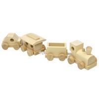 ミニ木製汽車A40 木製玩具 木のおもちゃ 汽車 乗り物 知育玩具 キッズ用品 3歳 4歳 5歳