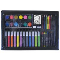 DXお絵かきセット 色鉛筆 クレヨン