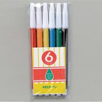 水性カラーペン 6色 CH水性カラーペン お絵かき カラーペン 工作