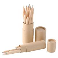 6色 いろえんぴつ[紙筒ケース入] 色鉛筆 色えんぴつ 色鉛筆 お絵かき 事務用品 知育玩具 おもちゃ 幼児 子供