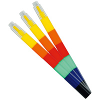 カラージョイントえんぴつ 3本組  鉛筆