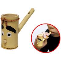 水笛 竹製玩具 知育玩具 水遊び 笛 ふえ 楽器 水笛 知育玩具 学校教材