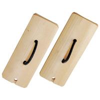 楽器 四つ竹 [2ケ組] 鳴り物 キッズ 子供用 運動会応援グッズ 体育祭 イベント 祭り