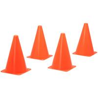 7インチコーン4本組  カラーコーン ミニ キッズ 子供用 運動会 体育祭