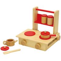 【メーカー在庫限り】 おままごと なかよしキッチンセット 木のおもちゃ 木製玩具 知育玩具 お誕生日 セット 木製 木のおもちゃ キッチン はじめてのおままごと