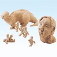 彫塑ねんど 1kg 彫刻用 粘土 ねんど 工作 図工 クラフト ホビー 知育玩具 夏休みの宿題 自由研究