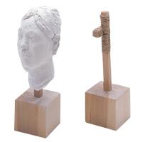 木製頭像芯 工作 手作り 美術 粘土 アート 頭像 工作 図工 学校教材 夏休みの宿題 自由研究