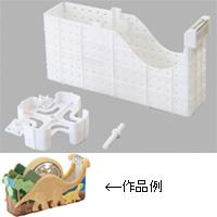 粘土のテープカッター芯 工作 手作り