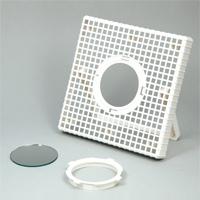 マルチフレーム芯材 ミラー付 ふわりん付 工作 手作り 美術