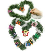 クリスマス リース作り オリジナルリース 手作り クリスマス飾り