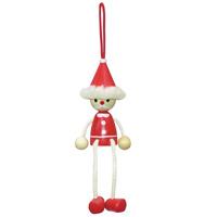 木製 マスコット サンタ クリスマス クリスマス飾り プレゼント ギフト