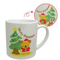 クリスマス マグ [ツリー&ベア] マグカップ プレゼント パーティ