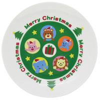 クリスマス ケーキ皿[アニマルズ] プレゼント パーティ