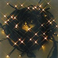 クリスマス LED 100球ライト ハニーゴールド  防水 イルミネーション 流行色