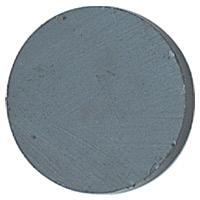 丸型フェライト磁石[10コ入][直径2.5×0.4cm]