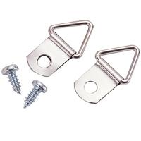 吊り金具[木ネジ付] 2ケ入 10組 工作 素材